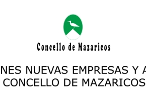 Subvenciones para nuevas empresas y autónomos Concello de Mazaricos