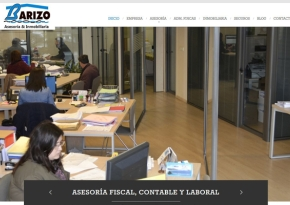 Página web Barizo Asesoría