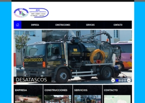 Página web Búa Construcciones y Servicios