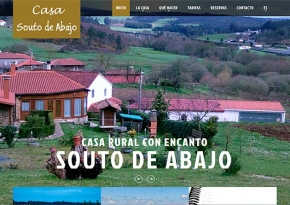 Página web Casa Souto de Abajo