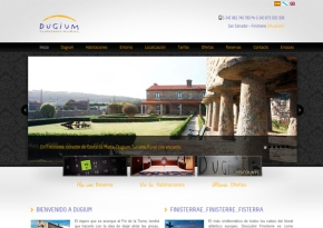Página web Hotel - Casa rural Dugium