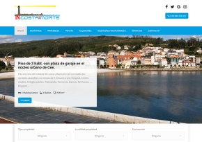 Página web Inmobiliaria INcostadamorte