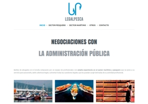 Página web para LegalPesca