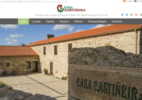 Renovación página web Casa Castiñeira