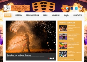 Renovación Página web Mercado Medieval Corcubión